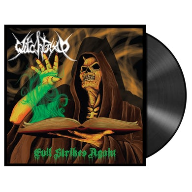 'Evil Strikes Again' LP (Vinyl)