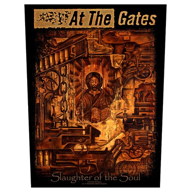 AT THE GATES - 'Slaughter Of The Soul' Back Patch