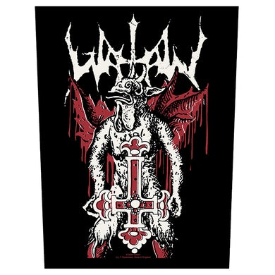 WATAIN - 'Inverted Cross' Back Patch