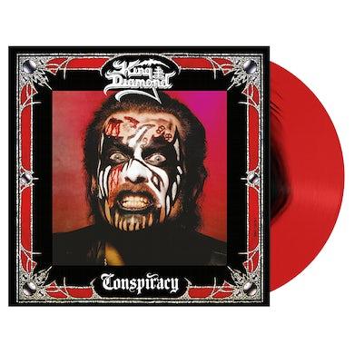 KING DIAMOND - 'Conspiracy' Red & Black LP (Vinyl)