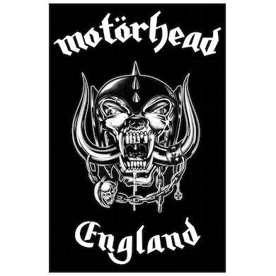 Motorhead MOTÖRHEAD - 'England' Flag