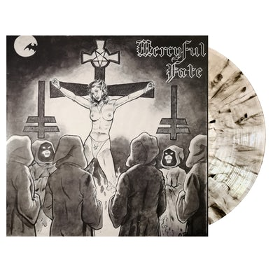 MERCYFUL FATE - 'Mercyful Fate (EP Nuns Have No Fun)' LP (Smoke) (Vinyl)