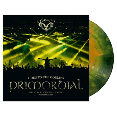 PRIMORDIAL - 'Gods To The Godless - Live At Bang Your Head Festival Germany 2015' 2xLP (Vinyl)