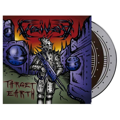 VOIVOD - 'Target Earth' 2xLP (Vinyl)