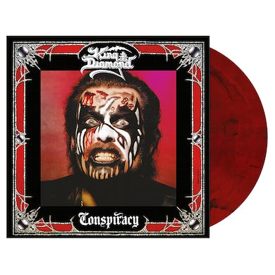 'Conspiracy' Red/Black Marble LP (Vinyl)