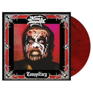 KING DIAMOND - 'Conspiracy' Red/Black Marble LP (Vinyl)
