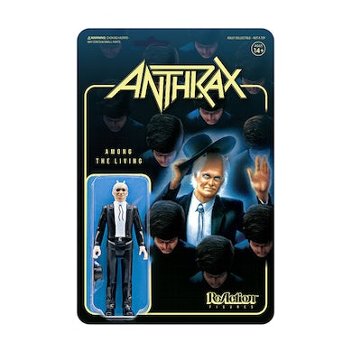 ANTHRAX - 'Among The Living' ReAction Figure