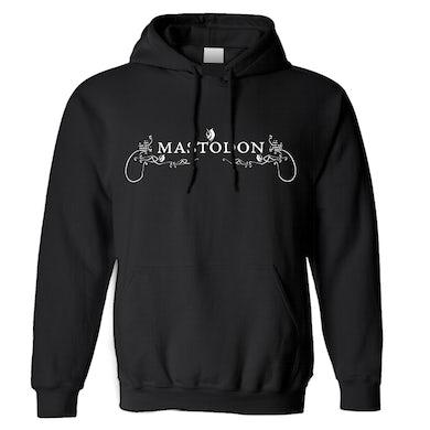 MASTODON - 'White Logo' Pullover Hoodie