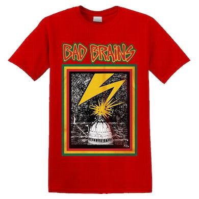 BAD BRAINS - 'Bad Brains' T-Shirt Red