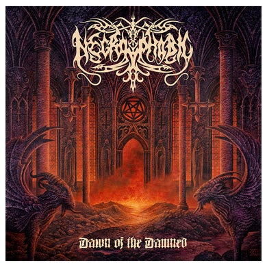 NECROPHOBIC - 'Dawn Of The Damned' CD