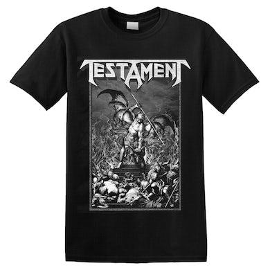 TESTAMENT - 'Pitchfork Horns' T-Shirt