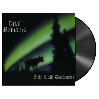 VITAL REMAINS - 'Into Cold Darkness' LP (Vinyl)