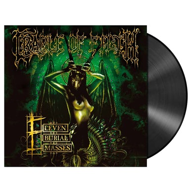 CRADLE OF FILTH - 'Eleven Burial Masses' 2xLP (Vinyl)