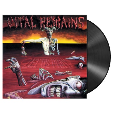 VITAL REMAINS - 'Let Us Pray' LP (Vinyl)