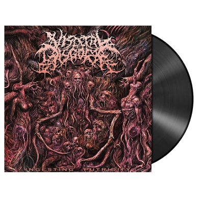 VISCERAL DISGORGE - 'Ingesting Putridity' LP (Vinyl)