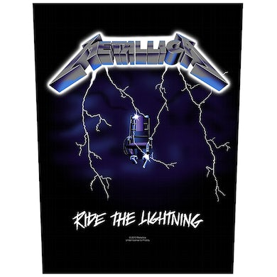METALLICA - 'Ride The Lightning' Back Patch
