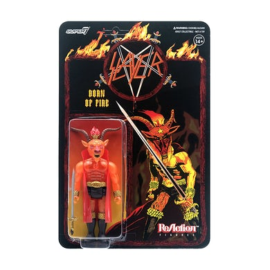 SLAYER - 'Born Of Fire' ReAction Figure