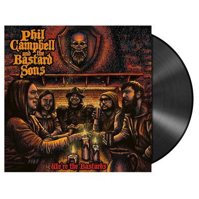 PHIL CAMPBELL AND THE BASTARD SONS - 'We're The Bastards' 2xLP (Vinyl)