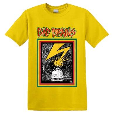 BAD BRAINS - 'Bad Brains' T-Shirt Yellow