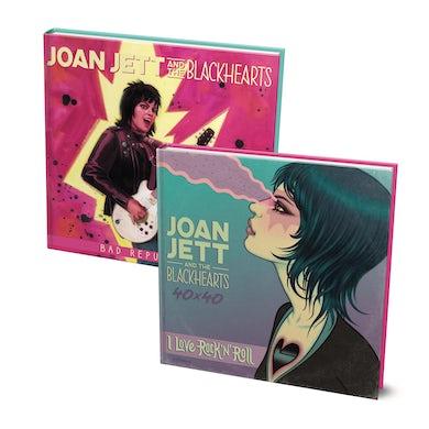 JOAN JETT & THE BLACKHEARTS - 40x40: Bad Reputation/I Love Rock 'n' Roll