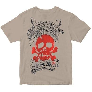 Monster Squad - Red Skull - Natural - T-Shirt