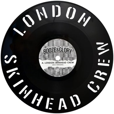 "Booze & Glory - London Skinhead Crew - Diecut 12"" EP (Vinyl)"