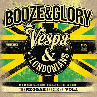 "Booze & Glory - The Reggae Sessions Vol 1 3x7"""