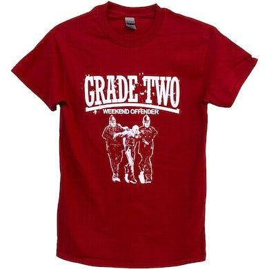 Grade 2 - Weekend Offender - Burgundy - T-Shirt