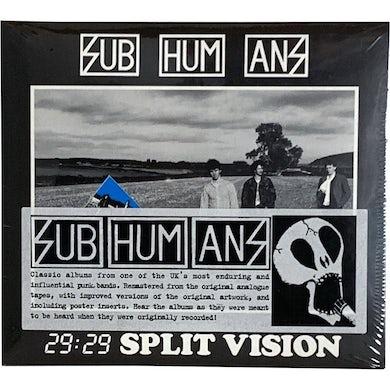 Subhumans - 29:29 Split Vision - CD
