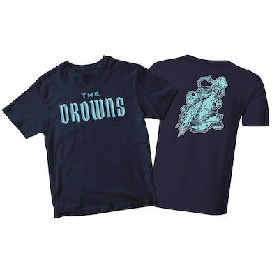 Team Colors - Blue on Navy - T-Shirt