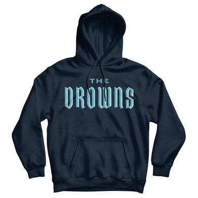 The Drowns - Team Colors - Blue on Navy - Hooded Sweatshirt