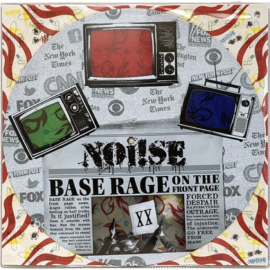 """NOi!SE - Base Rage On The Front Page - 12"""""""