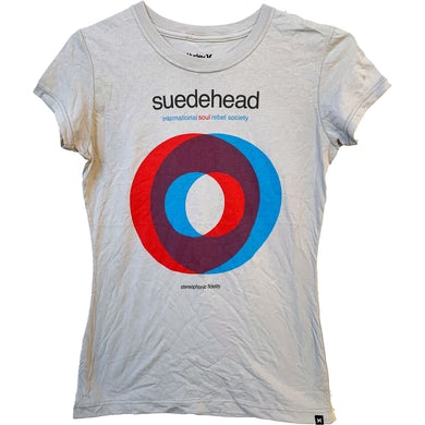 Suedehead - Overlapping Circles - Light Grey - T-Shirt - Fitted