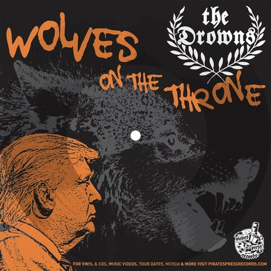 The Drowns - Wolves On The Throne Picture Flexi