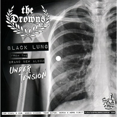 The Drowns - Black Lung Picture Flexi