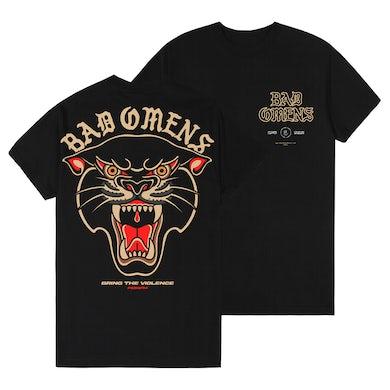 Bad Omens Violent Panther Tee