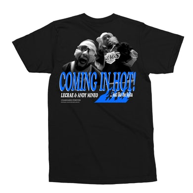 Andy Mineo Coming In Hot Tee - Black