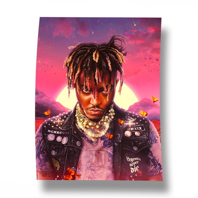 Juice WRLD Legends Never Die Album Poster