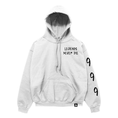 Juice WRLD 999 Moonlight Hoodie White