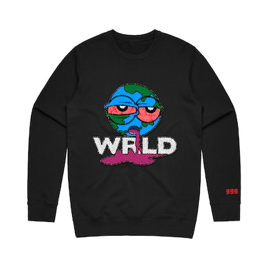 Juice WRLD Wasted Crewneck Black