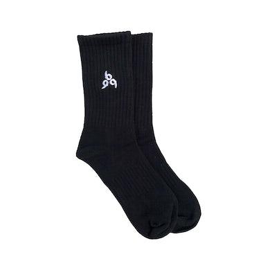 Juice WRLD 999 Embroidered Socks in Black