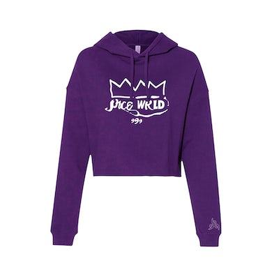 Juice WRLD IDOL Womens Hoodie Purple