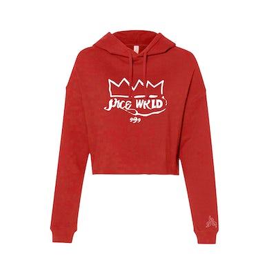 Juice WRLD IDOL Womens Hoodie Red