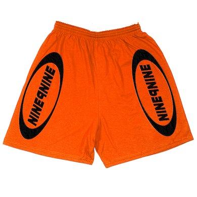 Juice WRLD NINE9NINE Shorts Orange