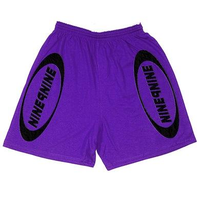 Juice WRLD NINE9NINE Shorts Purple