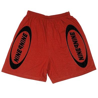 Juice WRLD NINE9NINE Shorts Red