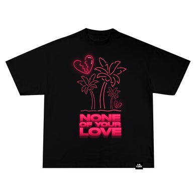 Lil Tjay None Of Your Love Tee Black