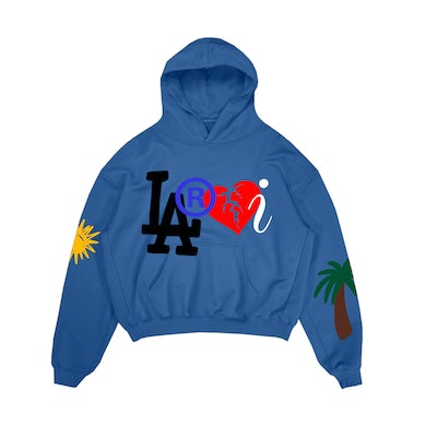 The Kid Laroi Laroi Family Hoodie Blue
