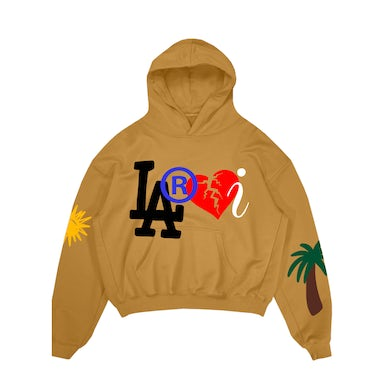 The Kid Laroi Laroi Family Hoodie Yellow