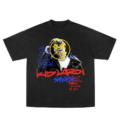The Kid Laroi Thinking Of You Tee Black